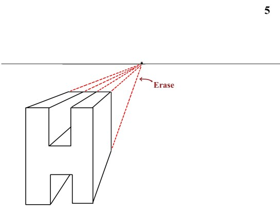 one point perspective H 1d