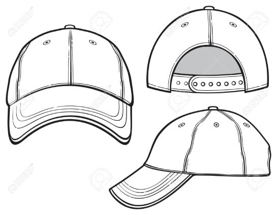 19189257-baseball-cap-Stock-Vector-template