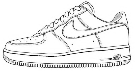 5cfa4a50fdb8c55dea3aa7c3f8e4ef4c_air-force-1-shoe-drawing-clipartxtras-air-force-1-shoe-drawing_825-448